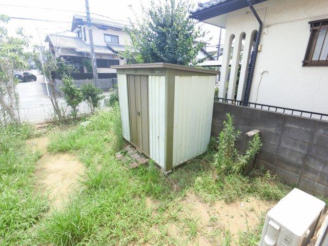 【庭】中島ハイツ 14号棟