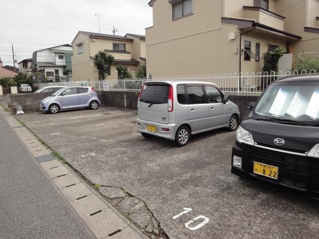 【駐車場】中島ハイツ 14号棟