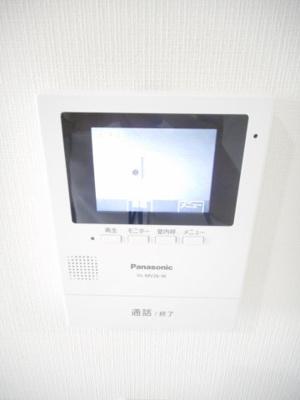来客を確認できて安心なTVモニター付きインターホン