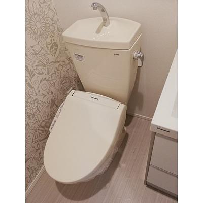 【トイレ】ハーモニーテラス蓮沼町