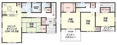 【区画図】ケイアイリッカ稲敷郡阿見町30期