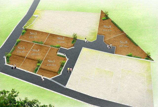 参考プランでは駐車場を2台配置したり、お庭やウッドデッキを造ったりすることも可能です。 ご家族に寄り添った、マイホームプランを考えてみてはいかがでしょうか。