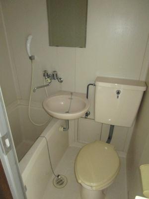 【浴室】ベルハイツ長瀬B棟