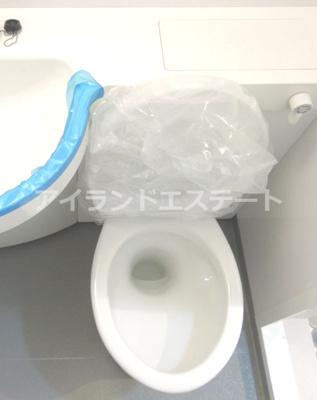 【トイレ】ハイネス池尻藤山ビル 礼金0 事務所相談可 お子様可 駅近