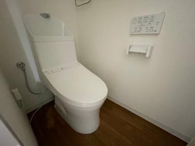【トイレ】クローバーズマンション