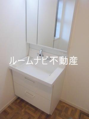 【洗面所】メゾン護国寺