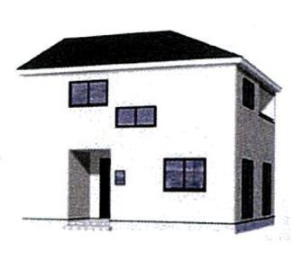 甲府市向町新築戸建・全3棟2号棟・耐震等級3等級