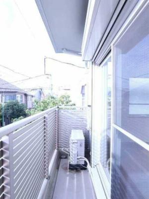 【バルコニー】アズーロ松陰神社 駅近 独立洗面台 浴室乾燥機