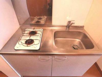 【キッチン】アズーロ松陰神社 駅近 独立洗面台 浴室乾燥機