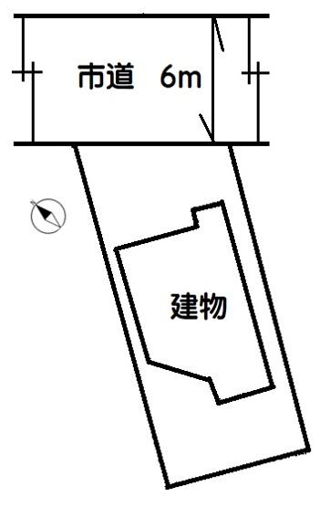 【区画図】加須市久下4丁目 中古一戸建