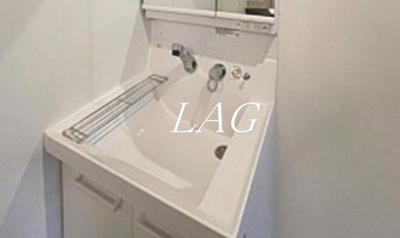 洗面台になります。