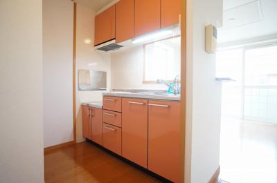 【キッチン】グリシーヌ・パレⅡA棟
