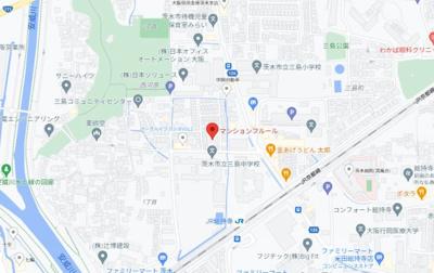 【地図】マンションフルール