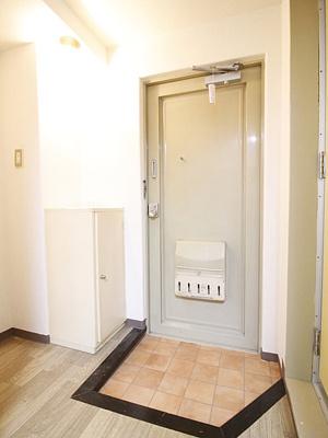 【玄関】サンモール第二青葉台