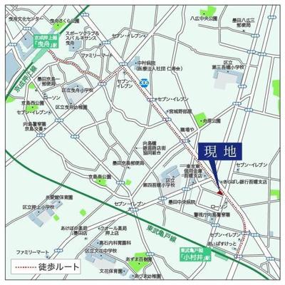 【地図】THE ARCTURUS SPICA