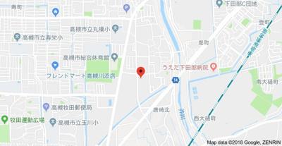 【地図】シャルマン芝生