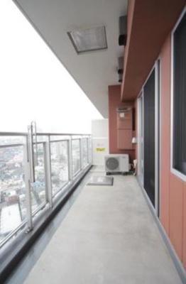 【バルコニー】ユニゾンタワー