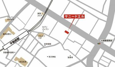 【地図】サニードエル