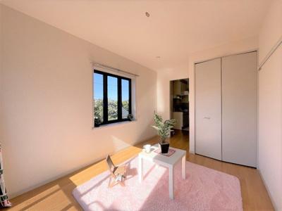 玄関からキッチン、洋室!※クリーニング作業中につき同じ間取りの参考写真です