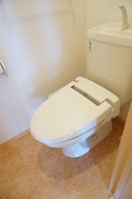 【トイレ】アンソレイユB棟