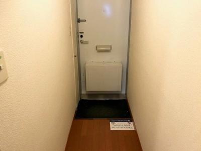 【玄関】レオパレスハーヴェスト湖北