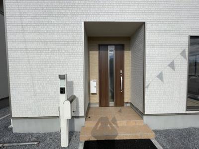 【外観:施工例】クレイドルガーデン真岡市長田第17 新築一戸建て