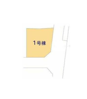 【区画図】クレイドルガーデン真岡市台町第5 新築一戸建て