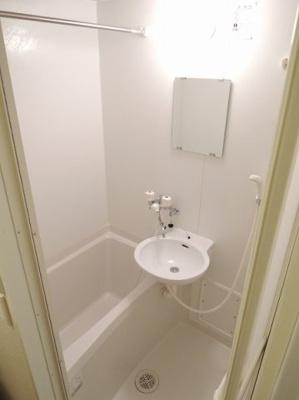 【浴室】レオパレスHYTⅢ