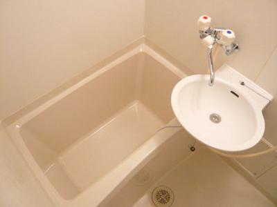 【浴室】レオパレスロッソピアンコⅡ