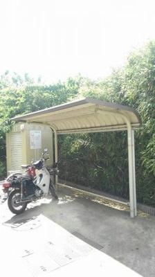 駐輪場もついてます!