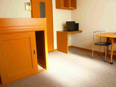 家具・家電付きのお部屋です。
