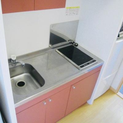 【キッチン】レオパレスルーチェⅢ