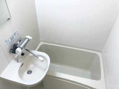 【浴室】レオパレスロッソピアンコ