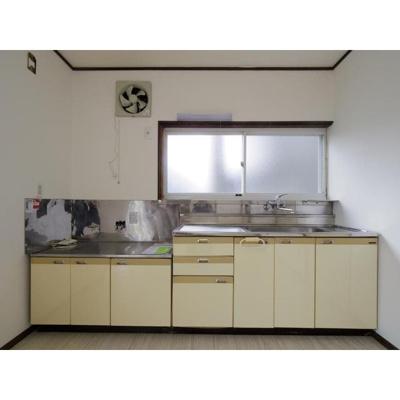 【キッチン】コーポ山岸C