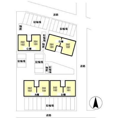 【区画図】リビングタウン飯岡新田ⅡB