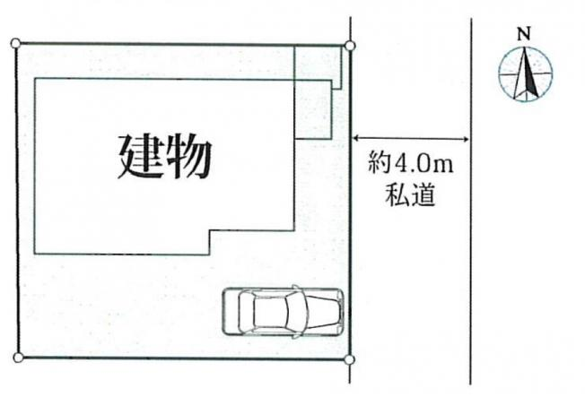 【区画図】新築戸建て