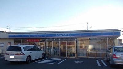 ローソン 能代西赤沼店まで650m