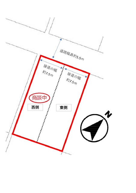 鳥取市湖山町北4丁目 土地の画像