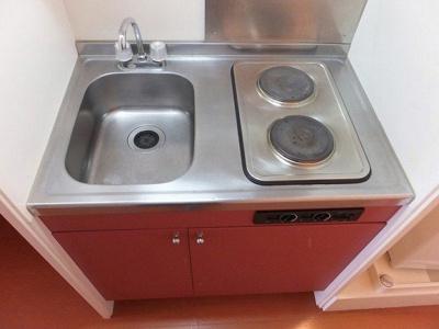 【キッチン】レオパレスマツバラ2003