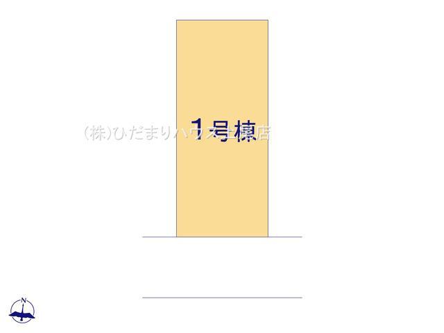 【区画図】蓮田市西新宿 3期 新築一戸建て グラファーレ 01