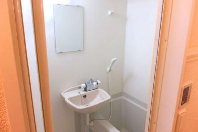 【浴室】レオパレスルミエール 駒場東大