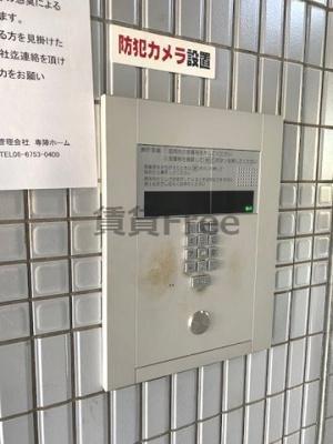【セキュリティ】クリオコート新今里リバーサイド 仲介手数料無料