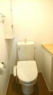 【トイレ】アイレジデンス Ⅱ番館