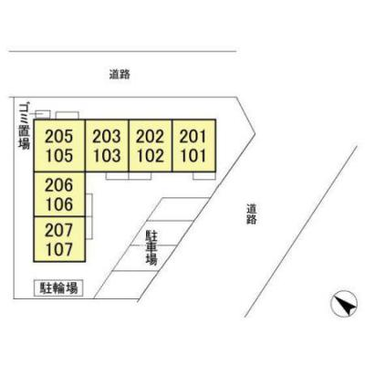【区画図】クルミー幕張本郷