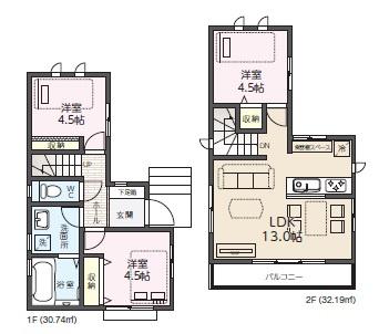 建物参考価格 15,036,679円