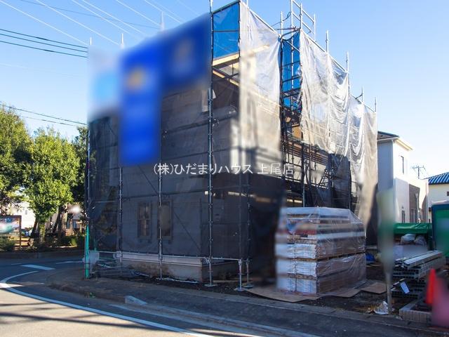【外観】上尾市泉台1丁目 新築一戸建て 03
