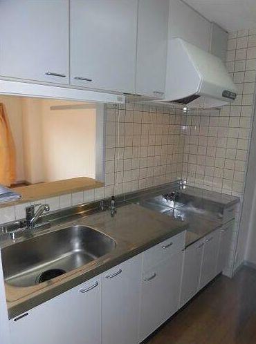 収納が多くお料理しやすいキッチンです