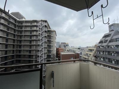 洋室側バルコニーからの眺望です。