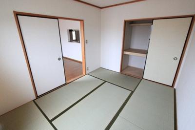 【和室】パセオ白鳳B棟