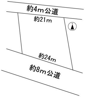 【区画図】57351 瑞穂市田之上土地